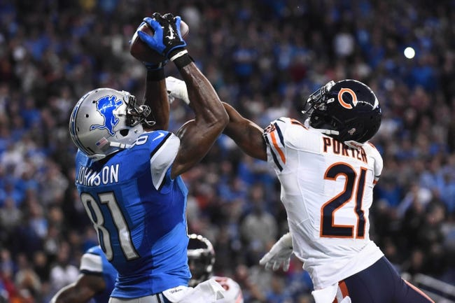 Chicago Bears vs. Detroit Lions - 1/3/16 NFL Pick, Odds, and Prediction