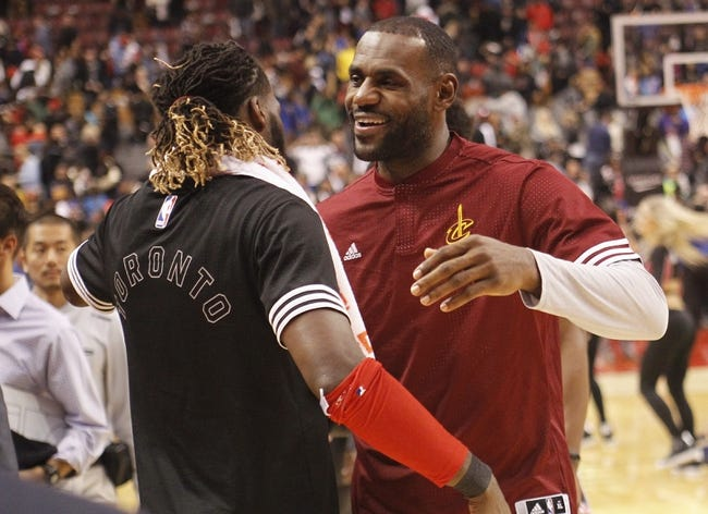 Raptors vs. Cavaliers - 11/25/15 NBA Pick, Odds, and Prediction