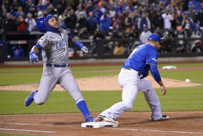 Chicago Cubs vs. New York Mets  NLCS Game 3 - 10/20/15 MLB Pick, Odds, and Prediction