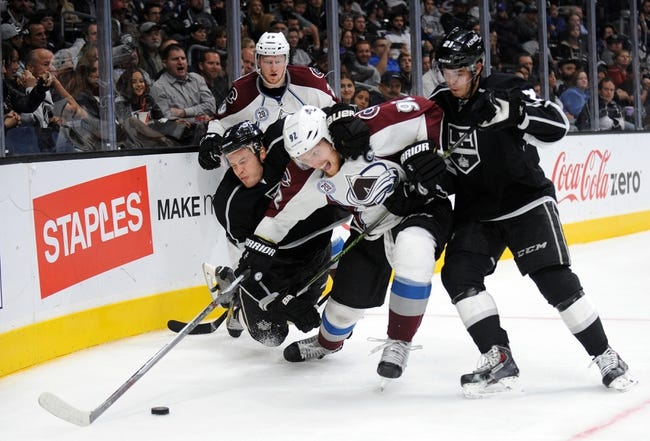 Avalanche vs. Kings - 1/4/16 NHL Pick, Odds, and Prediction