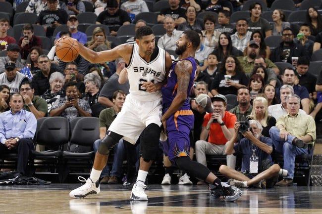 San Antonio Spurs vs. Phoenix Suns - 11/23/15 NBA Pick, Odds, and Prediction