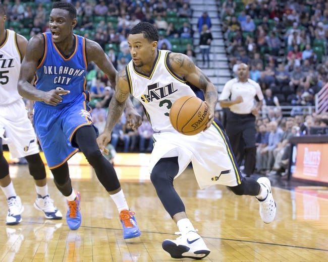 Utah Jazz vs. Oklahoma City Thunder - 11/23/15 NBA Pick, Odds, and Prediction