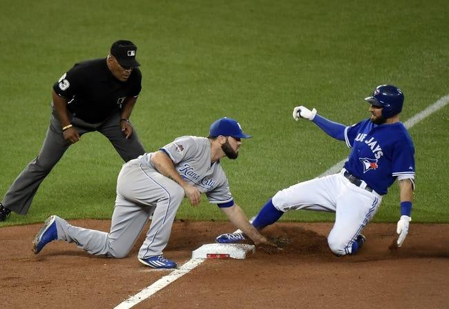 Kansas City Royals vs. Toronto Blue Jays  ALCS Game 6 - 10/23/15 MLB Pick, Odds, and Prediction