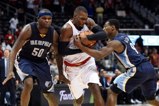 Memphis Grizzlies vs. Atlanta Hawks - 11/27/15 NBA Pick, Odds, and Prediction