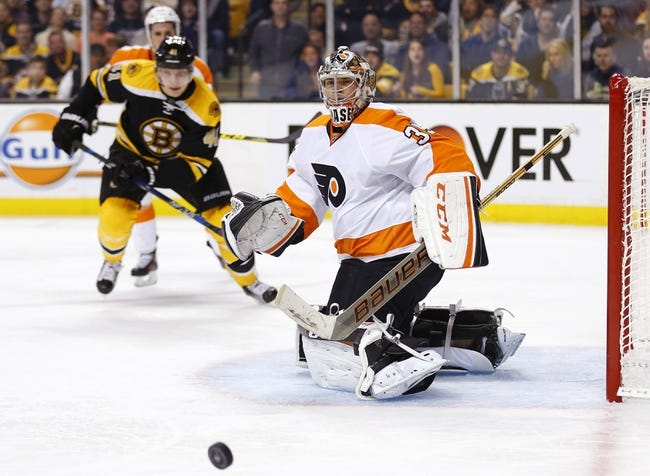 Philadelphia Flyers vs. Boston Bruins - 1/13/16 NHL Pick, Odds, and Prediction
