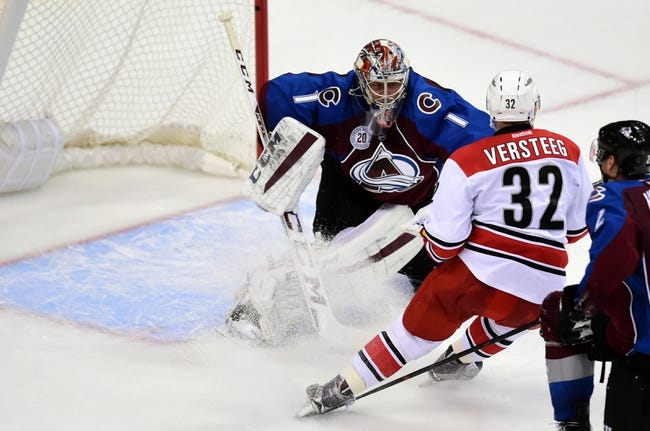 Carolina Hurricanes vs. Colorado Avalanche - 10/30/15 NHL Pick, Odds, and Prediction