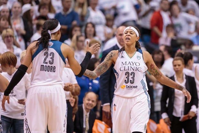 Indiana Fever vs. Minnesota Lynx - 6/14/16 WNBA Pick, Odds, and Prediction