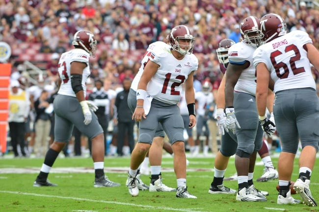 Troy Trojans vs. Ga Southern Eagles - 11/14/15 College Football Pick, Odds, and Prediction