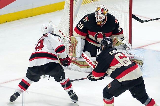 Ottawa Senators vs. New Jersey Devils - 12/30/15 NHL Pick, Odds, and Prediction