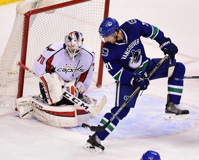 Washington Capitals vs. Vancouver Canucks - 1/14/16 NHL Pick, Odds, and Prediction
