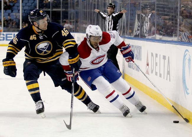 Montreal Canadiens vs. Buffalo Sabres - 2/3/16 NHL Pick, Odds, and Prediction