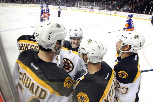 New York Islanders vs. Boston Bruins - 11/8/15 NHL Pick, Odds, and Prediction
