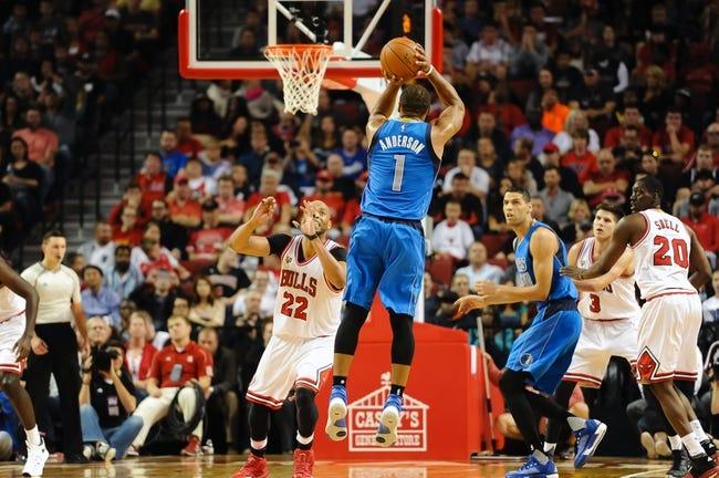 Bulls at Mavericks - 12/26/15 NBA Pick, Odds, and Prediction