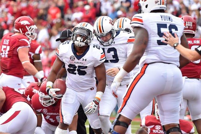 Auburn Tigers vs. Georgia Bulldogs - 11/14/15 College Football Pick, Odds, and Prediction