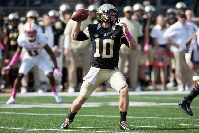 Louisville at Wake Forest - 10/30/15 College Football Pick, Odds, and Prediction