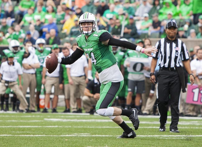 Marshall vs. Kent State - 9/16/17 College Football Pick, Odds, and Prediction