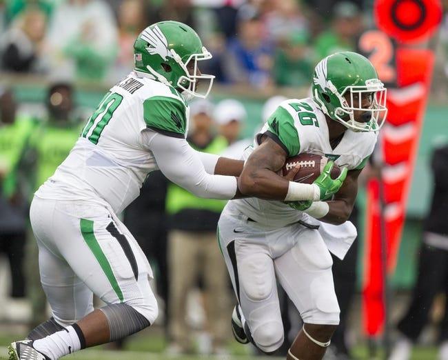 Louisiana Tech Bulldogs vs. North Texas Mean Green - 11/7/15 College Football Pick, Odds, and Prediction