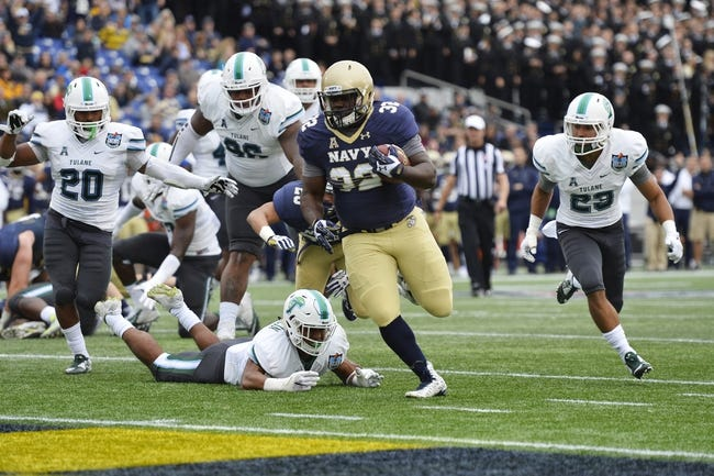 Tulane vs. Navy - 9/17/16 College Football Pick, Odds, and Prediction