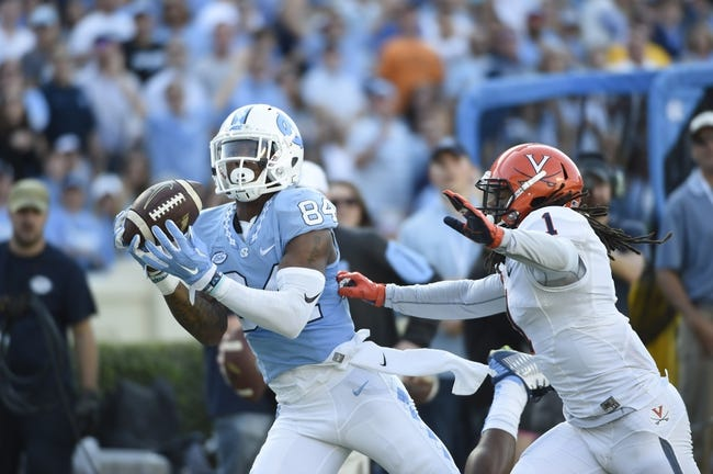 Pittsburgh Panthers vs. North Carolina Tar Heels - 10/29/15 College Football Pick, Odds, and Prediction