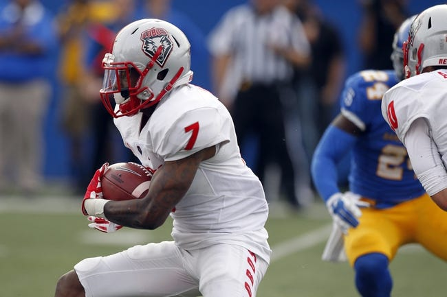 New Mexico Lobos vs. Utah State Aggies - 11/7/15 College Football Pick, Odds, and Prediction