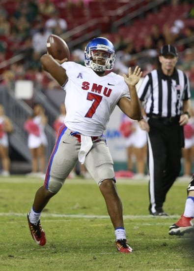 SMU Mustangs vs. Tulsa Golden Hurricane - 10/31/15 College Football Pick, Odds, and Prediction
