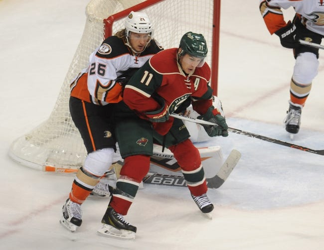 Anaheim Ducks vs. Minnesota Wild - 1/20/16 NHL Pick, Odds, and Prediction