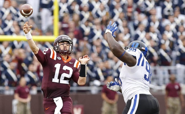 Boston College Eagles vs. Virginia Tech Hokies - 10/31/15 College Football Pick, Odds, and Prediction