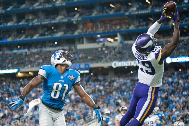 Minnesota Vikings vs. Detroit Lions - 11/6/16 NFL Pick, Odds, and Prediction