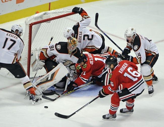 Anaheim Ducks vs. Chicago Blackhawks - 11/27/15 NHL Pick, Odds, and Prediction