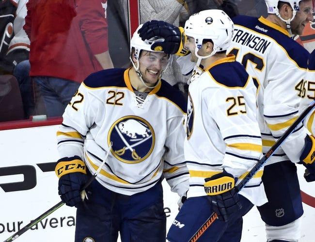 Buffalo Sabres vs. Philadelphia Flyers - 10/30/15 NHL Pick, Odds, and Prediction