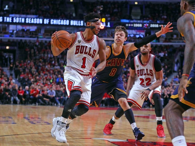 Cleveland Cavaliers vs. Chicago Bulls - 1/23/16 NBA Pick, Odds, and Prediction