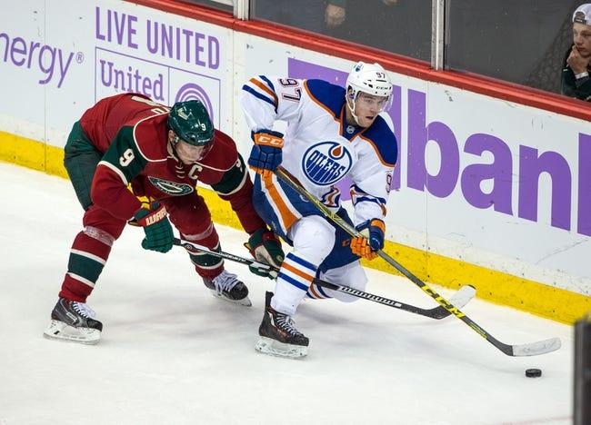 Edmonton Oilers vs. Minnesota Wild - 2/18/16 NHL Pick, Odds, and Prediction