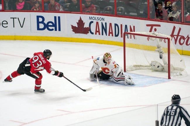 Flames vs. Senators - 2/27/16 NHL Pick, Odds, and Prediction