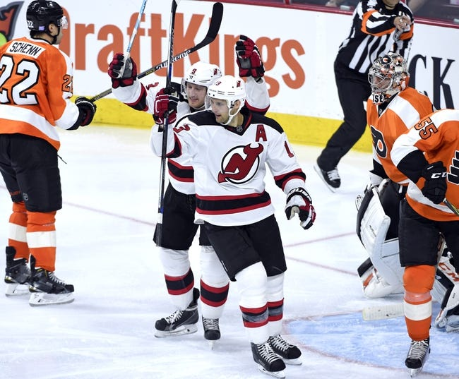 New Jersey Devils vs. Philadelphia Flyers - 12/4/15 NHL Pick, Odds, and Prediction