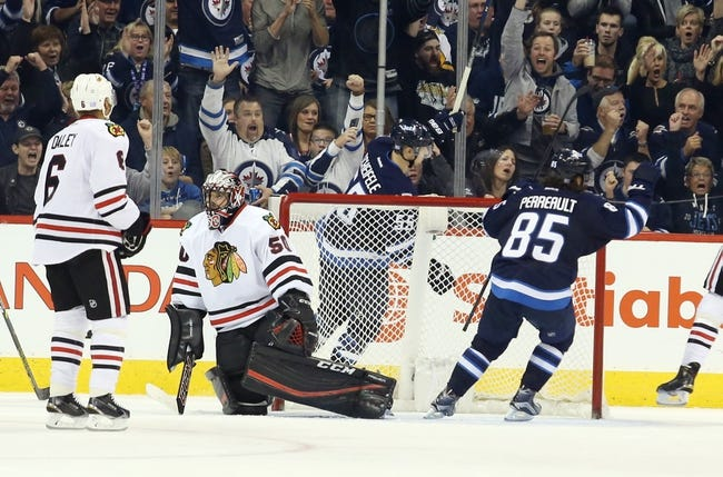 Chicago Blackhawks vs. Winnipeg Jets - 12/6/15 NHL Pick, Odds, and Prediction