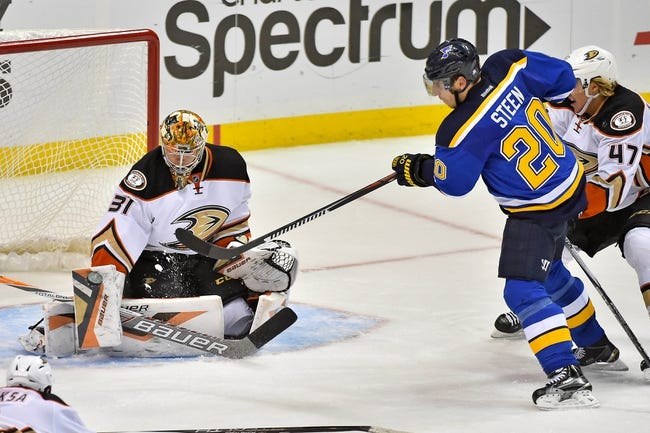 Ducks vs. Blues - 1/8/16 NHL Pick, Odds, and Prediction