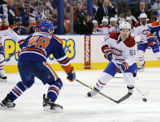 Canadiens vs. Oilers - 2/6/16 NHL Pick, Odds, and Prediction