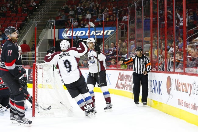 Carolina Hurricanes vs. Colorado Avalanche - 2/17/17 NHL Pick, Odds, and Prediction