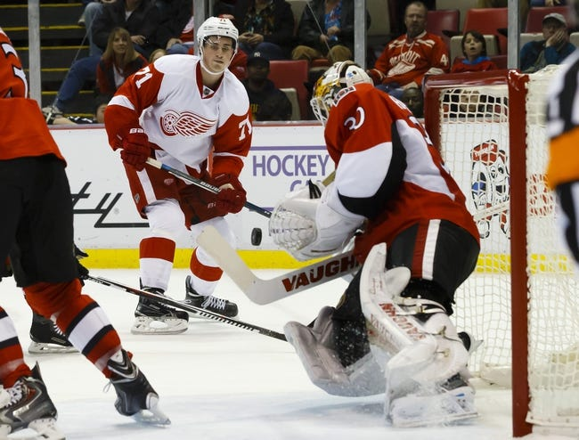 Ottawa Senators vs. Detroit Red Wings - 10/31/15 NHL Pick, Odds, and Prediction
