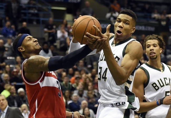 Washington Wizards vs. Milwaukee Bucks - 11/17/15 NBA Pick, Odds, and Prediction
