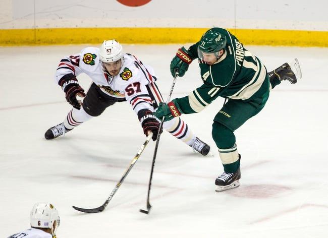 Chicago Blackhawks vs. Minnesota Wild - 12/1/15 NHL Pick, Odds, and Prediction