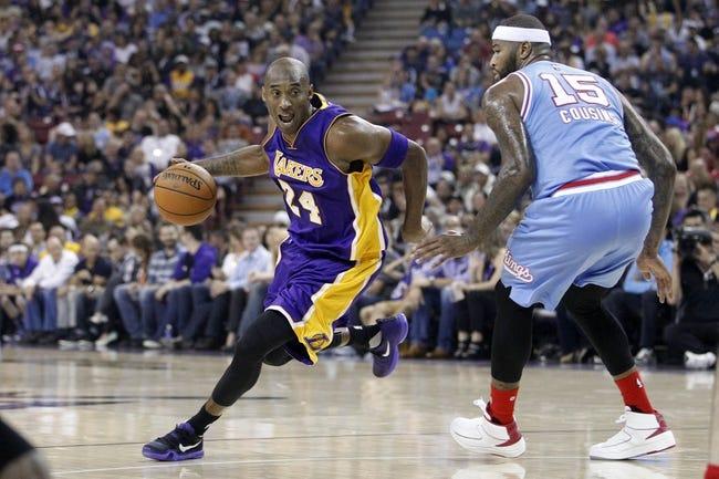Lakers at Kings - 1/7/16 NBA Pick, Odds, and Prediction