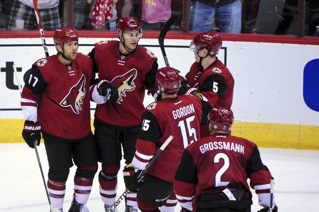 Arizona Coyotes vs. Colorado Avalanche - 11/5/15 NHL Pick, Odds, and Prediction