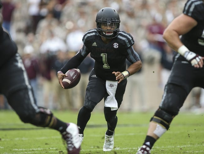 Texas A&M Aggies vs. Auburn Tigers - 11/7/15 College Football Pick, Odds, and Prediction