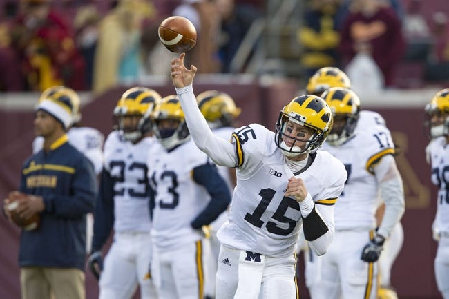 Rutgers Scarlet Knights vs. Michigan Wolverines - 11/7/15 College Football Pick, Odds, and Prediction