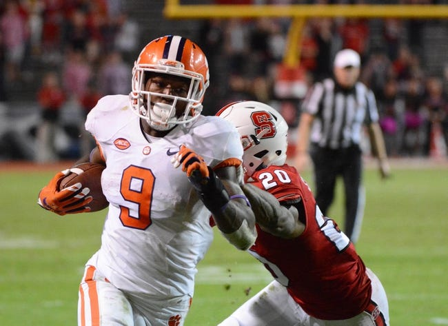 Clemson Tigers vs. NC State Wolfpack - 10/15/16 College Football Pick, Odds, and Prediction