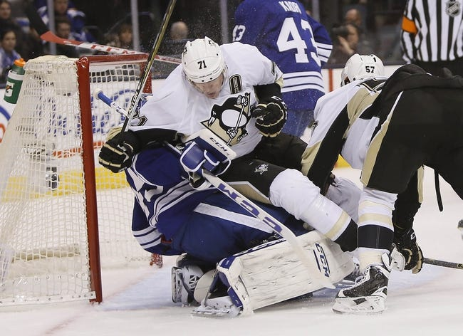 Pittsburgh Penguins vs. Toronto Maple Leafs - 12/30/15 NHL Pick, Odds, and Prediction