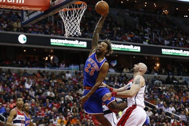 Knicks vs. Wizards - 2/9/16 NBA Pick, Odds, and Prediction