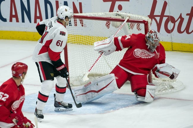 Ottawa Senators vs. Detroit Red Wings - 11/16/15 NHL Pick, Odds, and Prediction