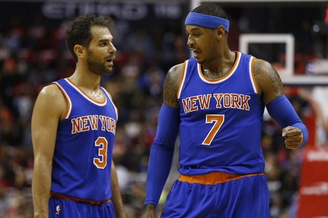 Spurs at Knicks - 11/2/15 NBA Pick, Odds, and Prediction